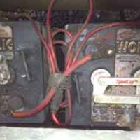 Original house batteries. They needed replacing!