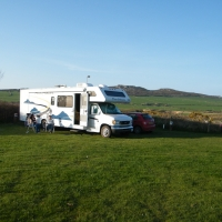 are van set up at Lleithyr Farm